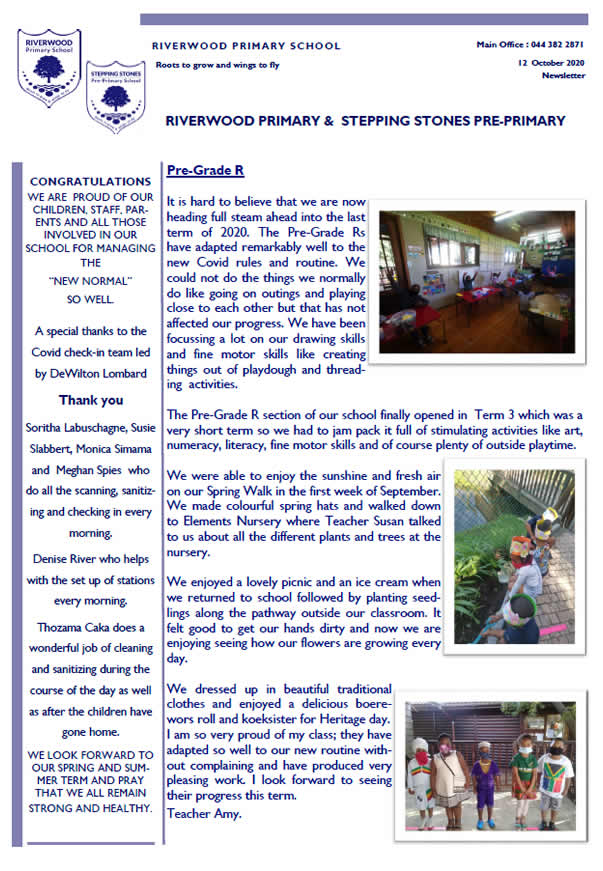 riverwood newsletter 11220
